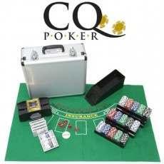 CQ Poker Deluxe Set inc 600 Chips, Cards, Shuffler