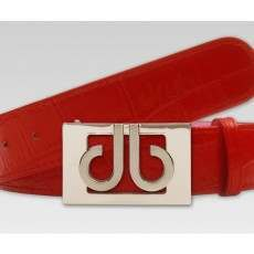 Druh Tour Crocodile Leather Belt