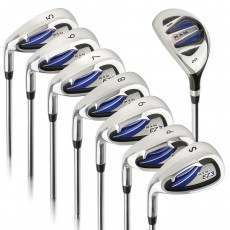 Ram Golf EZ3 Mens Left Hand Iron Set 5-6-7-8-9-PW-SW - HYBRID INCLUDED