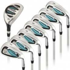 Ram Golf EZ3 Ladies Petite Right Hand Iron Set 5-6-7-8-9-PW-SW - HYBRID INCLUDED