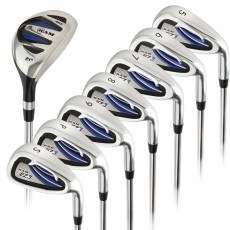 Ram Golf EZ3 Mens Right Hand +1 Inch Iron Set 5-6-7-8-9-PW-SW - HYBRID INCLUDED