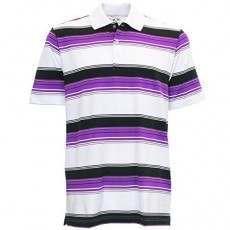 Adidas Puremotion Merch Stripe Polo - Purple