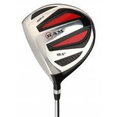 Ram Golf SGS 460cc Driver - Mens Left Hand - Headcover Included - Steel Shaft
