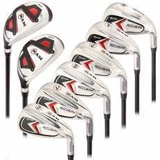 Ram Golf Accubar Mens Clubs All Graphite Iron Set 6-7-8-9-PW-SW with Hybrids 24° and 27°