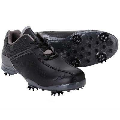Woodworm TFG Waterproof Golf Shoes Black / Grey