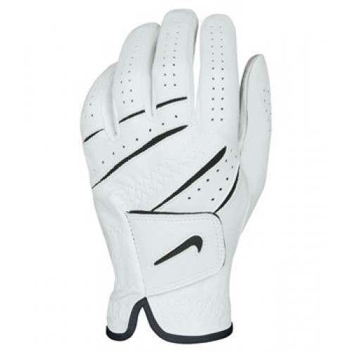 Nike Tour Classic Left Hand Golf Glove - White/Black