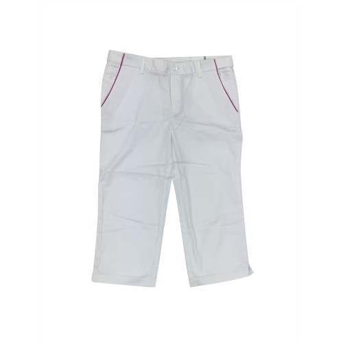Ashworth Golf Ladies Capri Trousers / Pedal Pushers - White Size 10