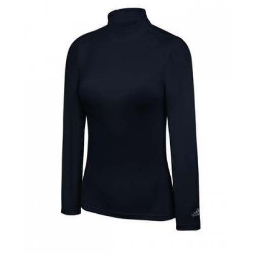 Adidas Ladies ClimaLite Thermal Compression Mock
