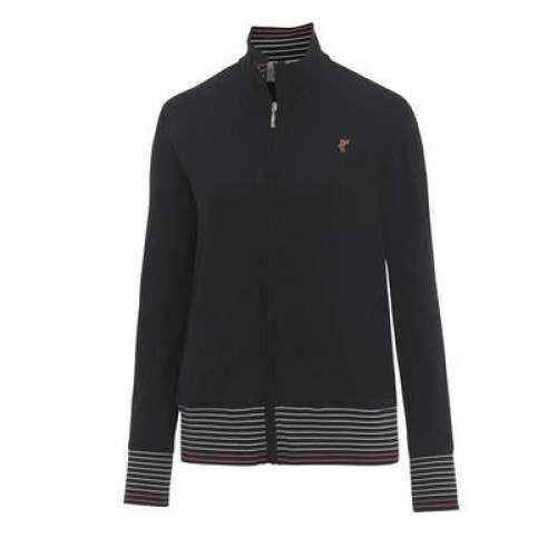 Ashworth Ladies Pique Full Zip Jacket