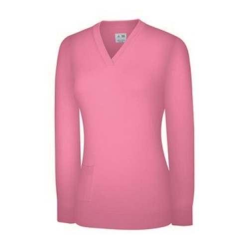 Adidas Womens Pocket V Neck Sweater
