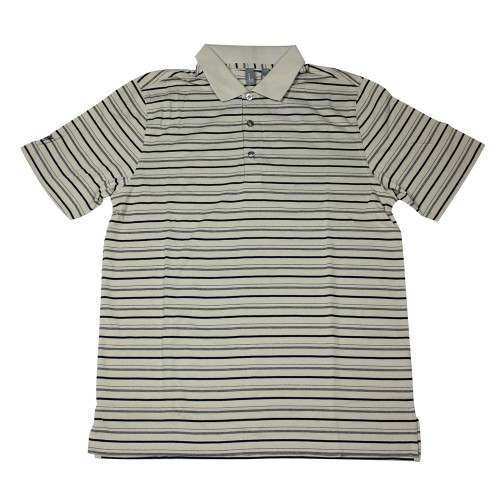 Ashworth Mens Thin Stripes 3 Tone Polo Shirt