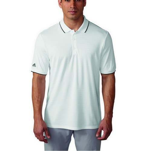 Adidas Golf Climacool Tipped Club Polo Shirt