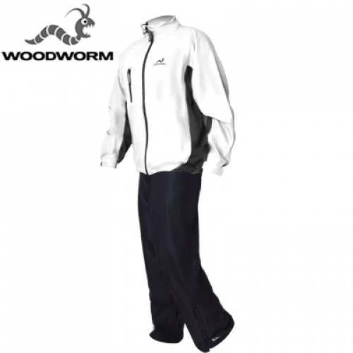Woodworm Golf Waterproof Suit - White