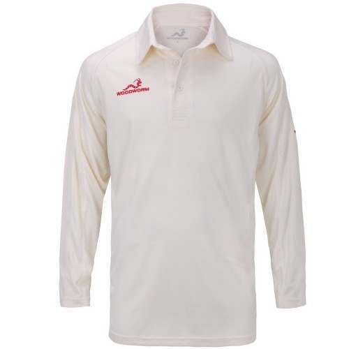 Woodworm Pro Cricket Long Sleeve Shirt