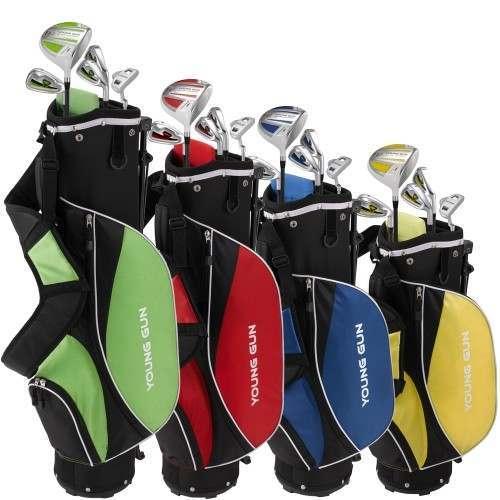 Young Gun ZAAP Junior Ace Golf Package Set