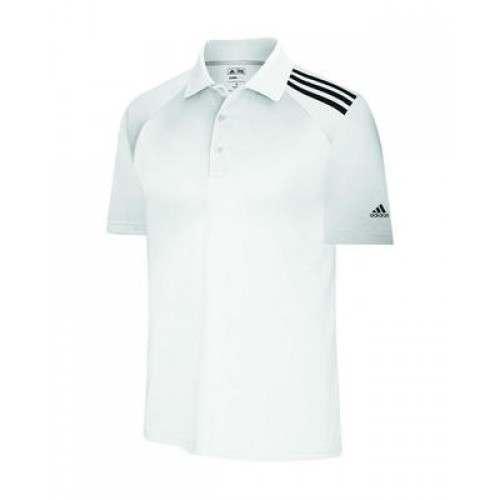 Adidas ClimaCool 3 Stripes Soft Jersey Polo