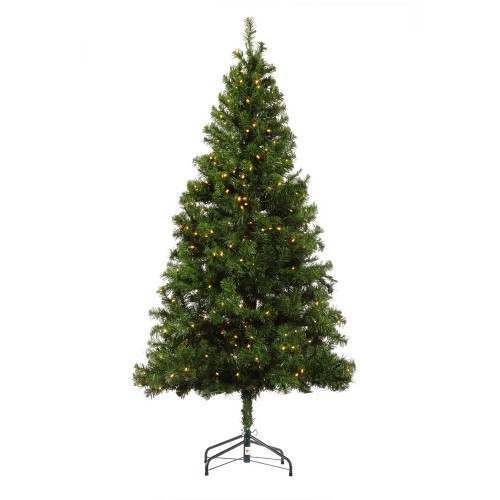 Homegear 6ft Pre-lit Artificial Christmas Tree