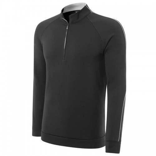 Adidas Climalite 1/4 Zip Layering Top - Black