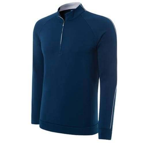 Adidas Climalite 1/4 Zip Layering Top - Blue