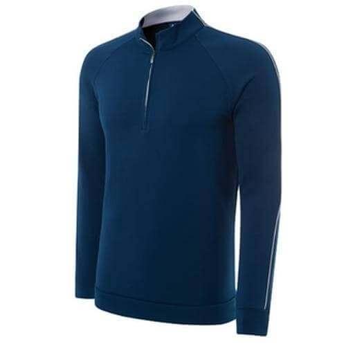 Adidas Climalite 1/4 Zip Layering Top - Blue
