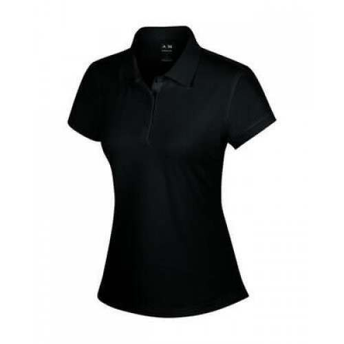 Adidas Ladies ClimaLite Sanded Jersey Polo