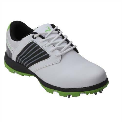 Woodworm Player 2.0 Golf Shoes - White / Neon