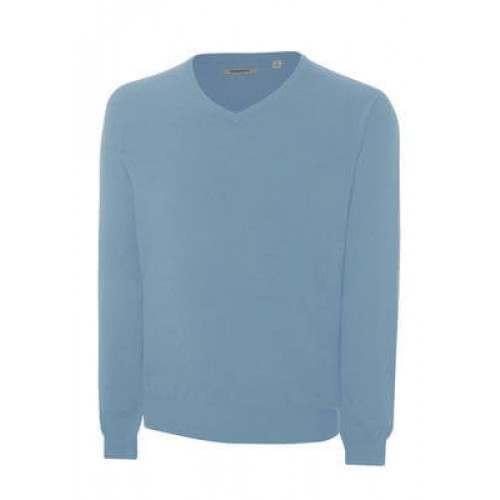 Ashworth Mens V-Neck Merino Wool Sweater
