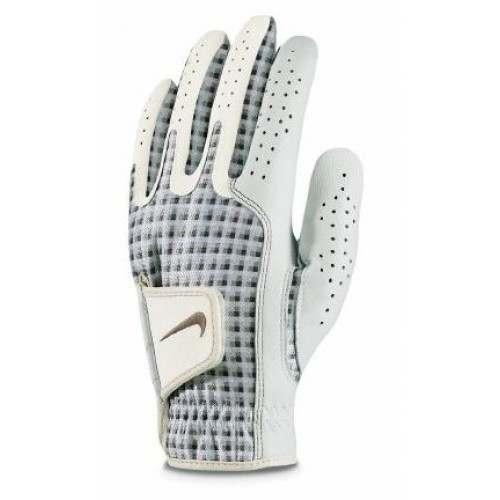 Nike Ladies Tech Xtreme Golf Glove - Left Hand Beige / White
