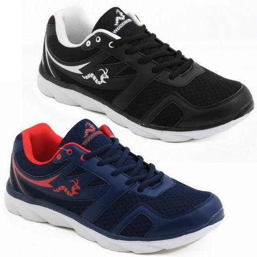 2 x Woodworm TXI Mens Running Shoes / Trainers