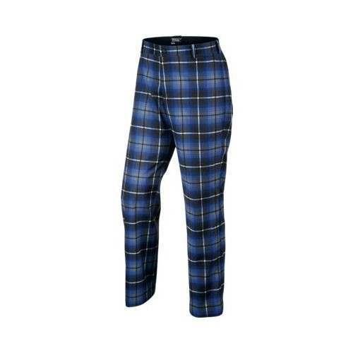 Nike Golf Plaid Trousers - Game Royal