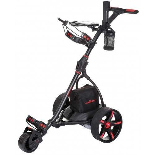 Caddymatic V2 Electric Golf Trolley / Cart with Upgraded 36 Hole Battery With Auto-Distance Functionality