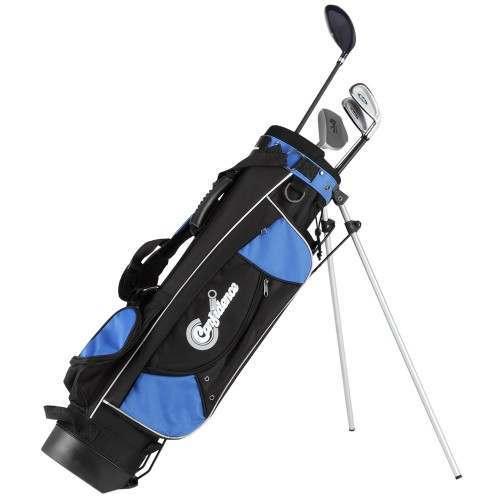 Confidence Golf Graphite Junior Tour Clubs Set with Stand Bag