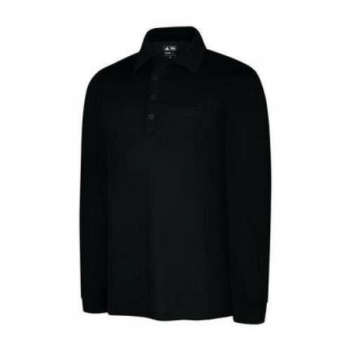 Adidas ClimaLite Warm Long Sleeve Pocket Polo