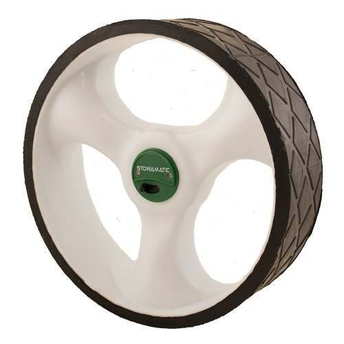 Caddymatic and Stowamatic Electric Golf Trolley Rear Wheel - Left