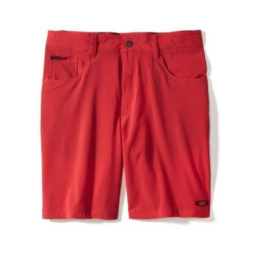 Oakley 50S Stretch Golf Shorts - Red