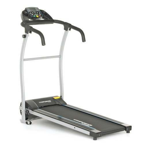 Confidence Fitness TP-1 Electric Treadmill Folding Motorised Running Machine - Black