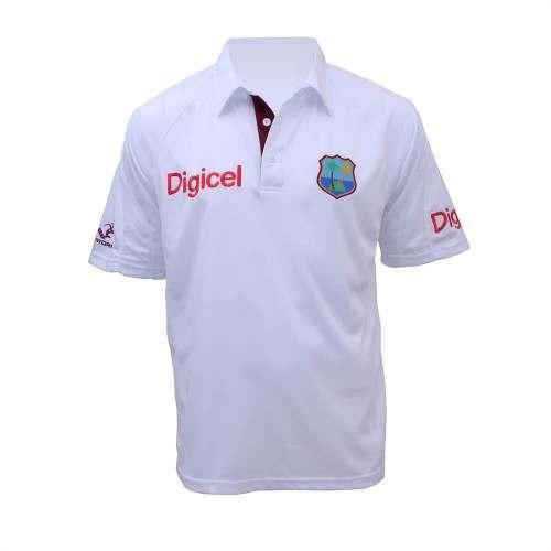 West Indies Replica Test Shirt